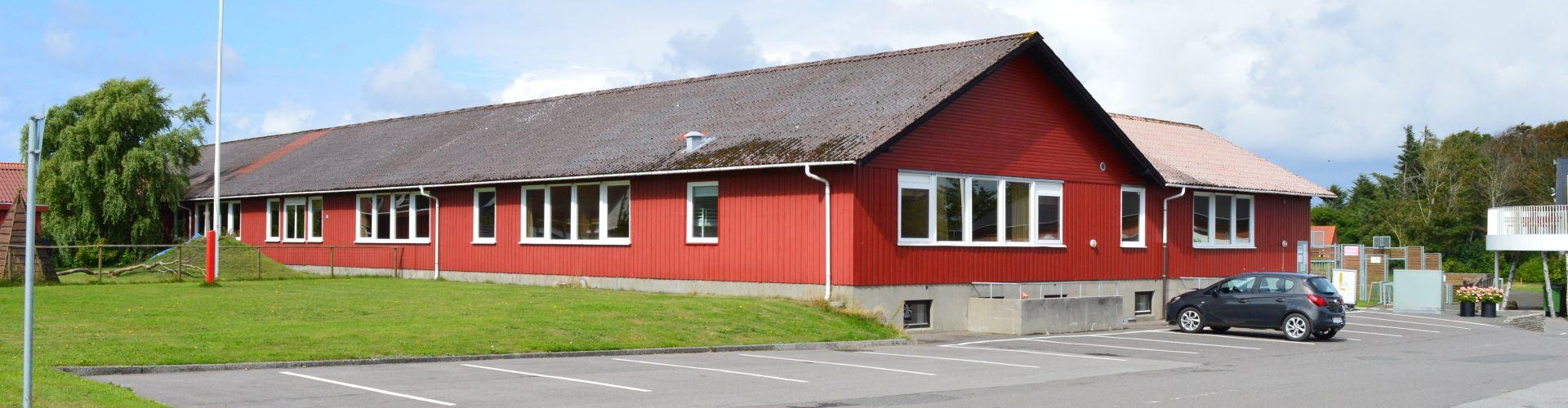 Nylig restaureret bygning
